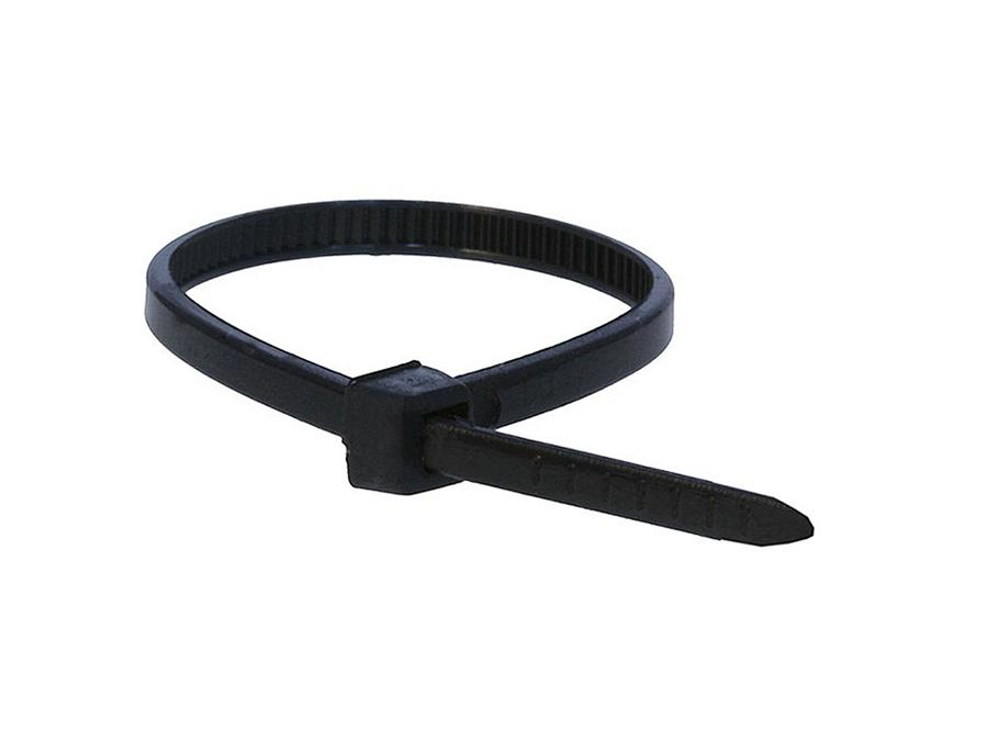 Black Zip Ties >> Zip Ties Black 100 Pack